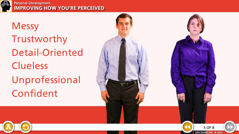 improving how you're perceived